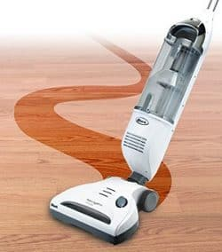shark navigator freestyle is great on solid wood surfaces