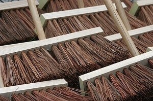 Use A Stiff Brush To Loosen Dirt From The Carpet The First Step To Cleaning  Carpeted Stairs ...