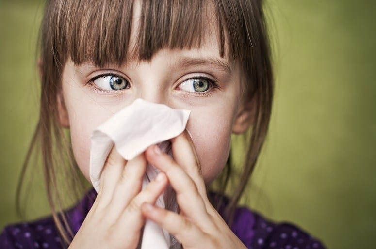 Kid With Allergies