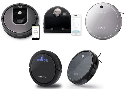 the 5 robot vacuums that made my list