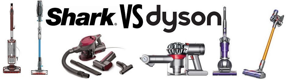 shark vs dyson vacuum cleaners