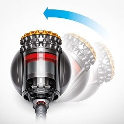 dyson ball canister cyclone