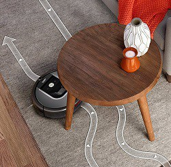 low profile for cleaning under furniture
