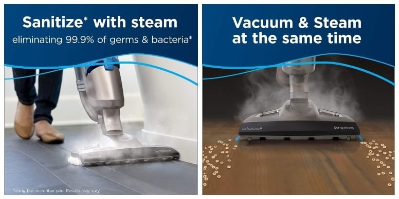 Bissell Symphony All In One Vacuum Features