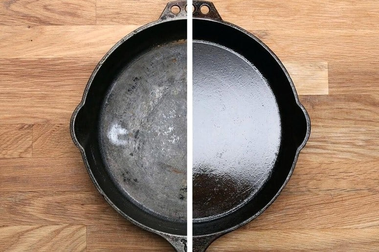 Well Maintained Iron Skillet