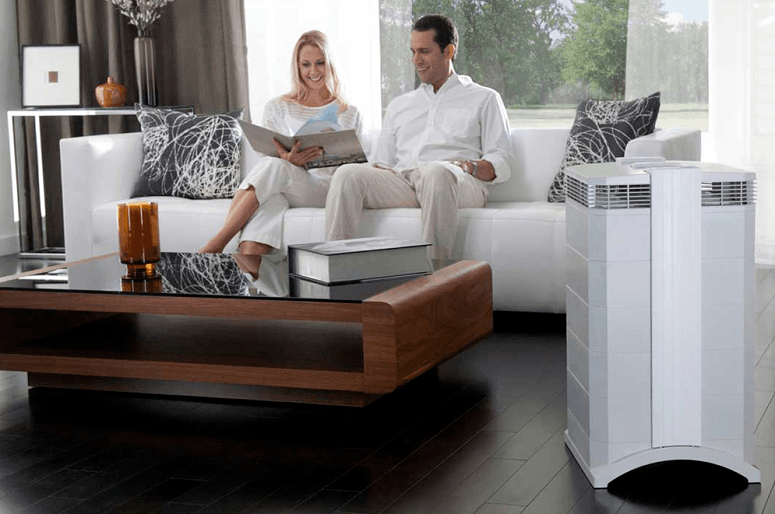 Air Purifier In Room With People