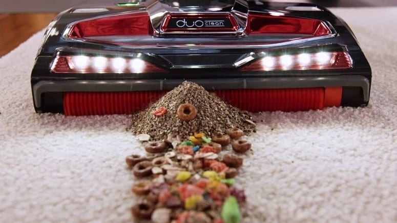 Shark Vacuum Cleaners DuoClean Technology