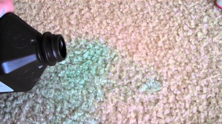 Hydrogen Peroxide Carpet Cleaning