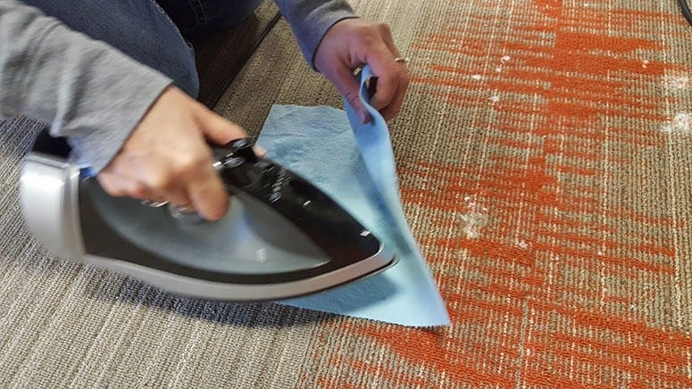how to get candle wax out of carpet 2 foolproof methods that work. Black Bedroom Furniture Sets. Home Design Ideas