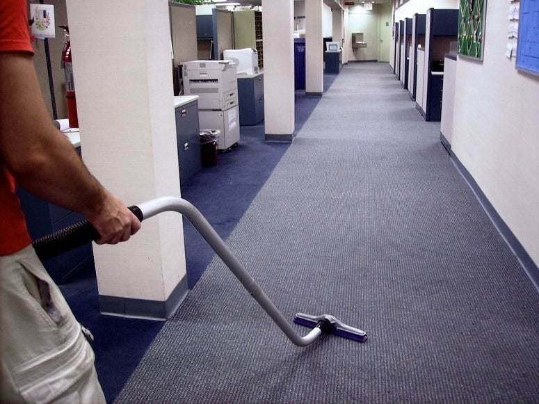 How to Vacuum Large Offices