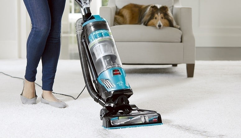 Using Bissell Vacuum Cleaner