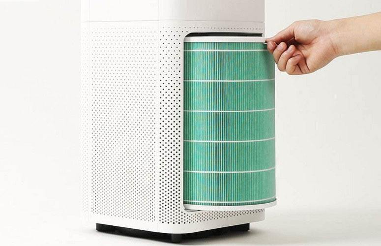 Changing Air Purifier Filter
