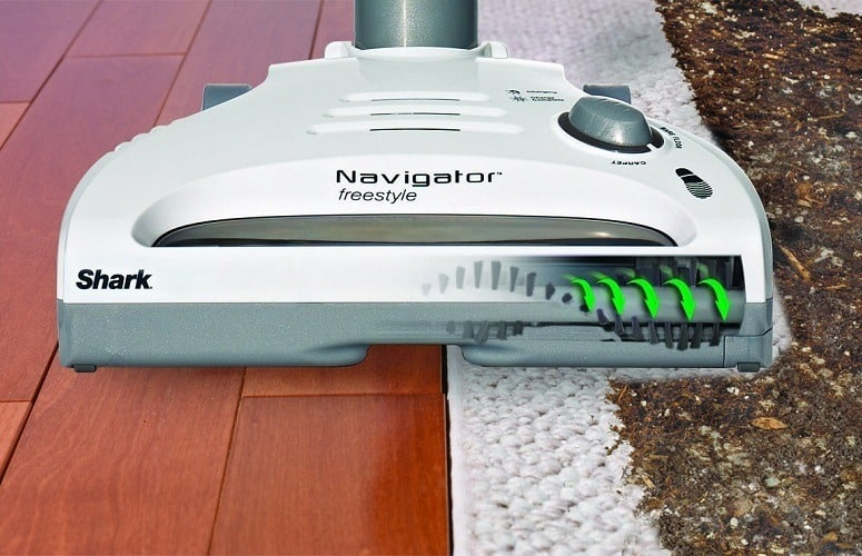 Shark navigator freestyle upright cordless vacuum cleaner review
