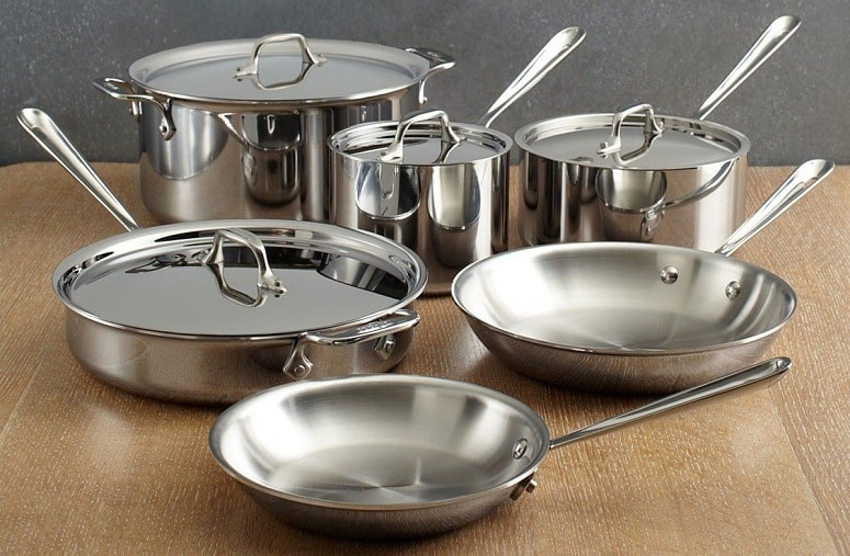 Stainless Steel Pans And Pots