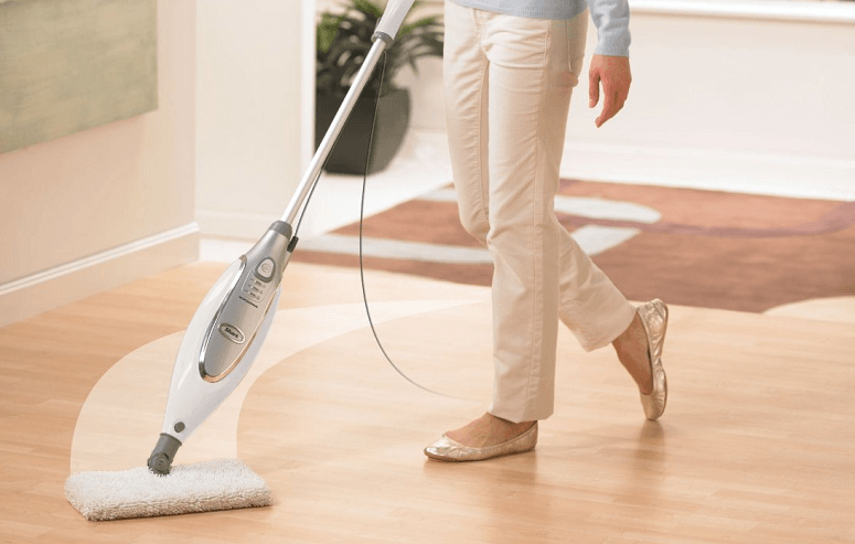 Using Shark Steam Mop