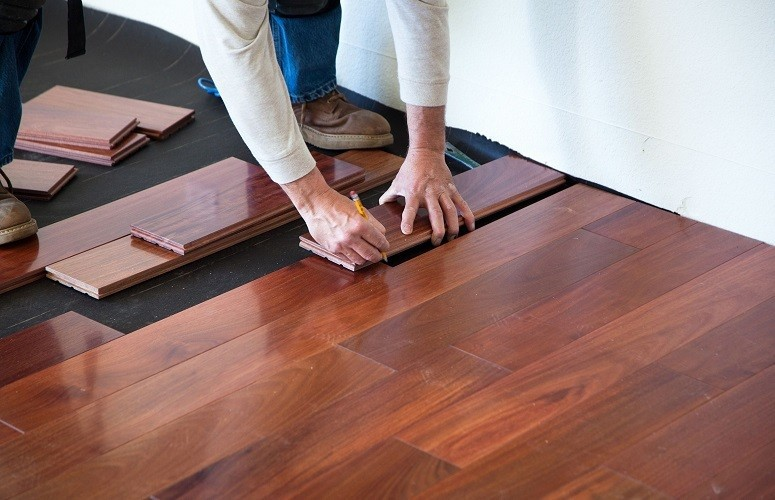 getting started with hardwood installation