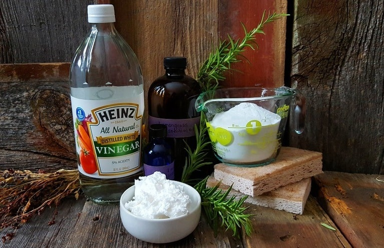 Six Natural Cleaning Ingredients