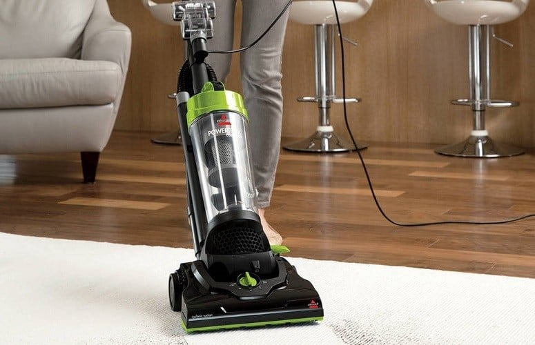 upright vacuum model